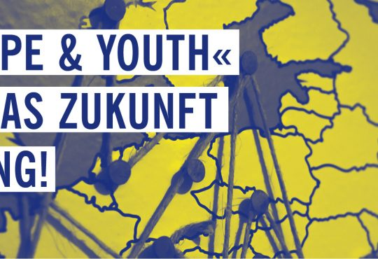»EUROPE & YOUTH« @ Café im Weltecho