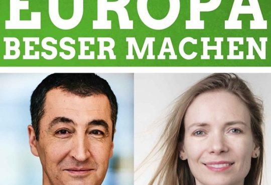 Townhall mit Cem Özdemir und Anna Cavazzini @ Hotel Chemnitzer Hof