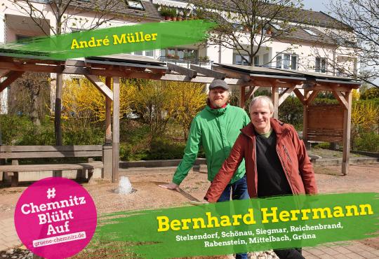 Zukunftstour mit Bernhard Herrmann und André Müller @ Rabenstein
