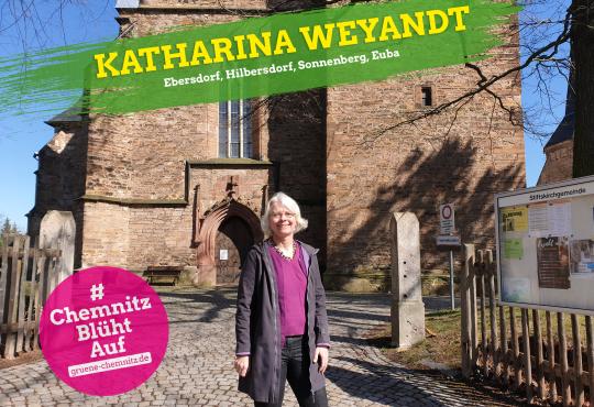 Infostand mit Katharina Weyandt @ Sachsen-Allee Chemnitz