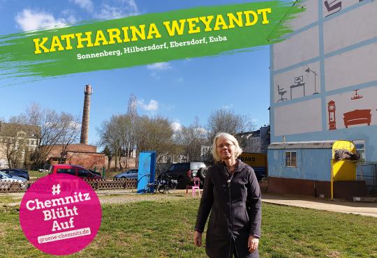 Wanderung Sonnenberg-Hilbersdorf mit Katharina Weyandt und Reiner Amme
