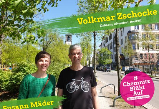 Besuch Mühle Rottluff mit Volkmar Zschocke @ Mühlengrundstück in Rottluff