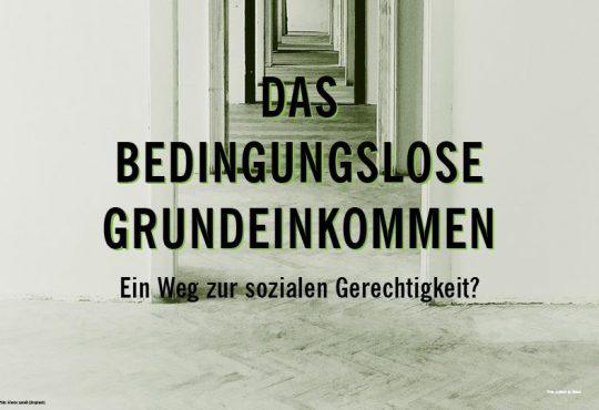 Podiumsdiskussion: Das bedingungslose Grundeinkommen: Ein Weg zur sozialen Gerechtigkeit? @ Altes Heizhaus der TU Chemnitz