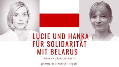 Gemeinsam mit Belarus für Frieden und Freiheit @ Johannisplatz, 09111 Chemnitz (Höhe Vapiano)