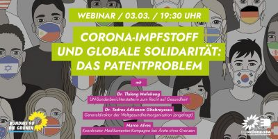 Corona-ImpfstoffundglobaleSolidarität:dasPatentproblem