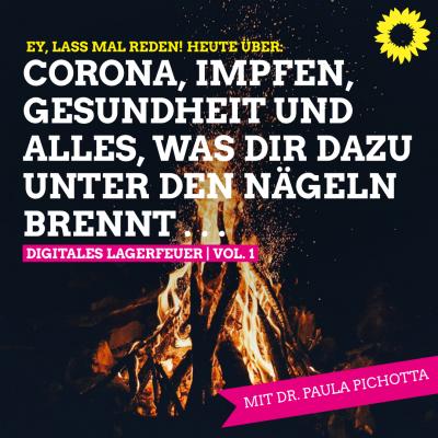 Ey, lass mal reden - Digitales Lagerfeuer Vol. 1 - Corona, Gesundheit, Impfen & Co.