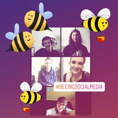 Beeing Social Media @ https://meet.jit.si/1Social_GrueneChemnitz_BTW