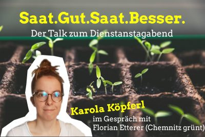 """Karola waldmeistert"" zum Thema ""Saatgut & Artenvielfalt"" mit Florian Etterer @ https://gruenlink.de/1zp6"